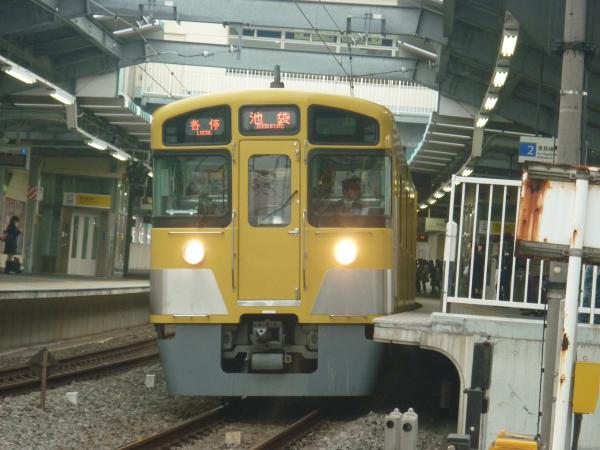 2013-11-03 西武2083F 各停池袋行き