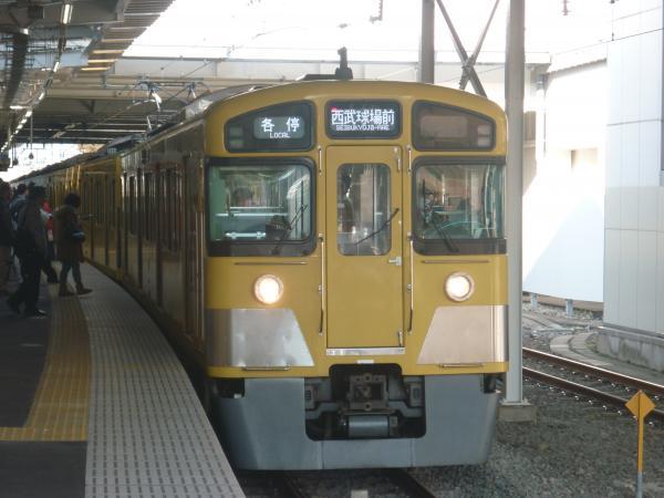 2013-11-16 西武2083F 各停西武球場前行き