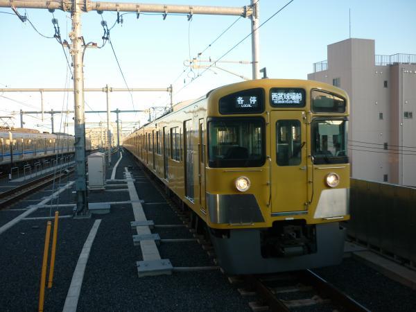 2013-12-22 西武2083F 各停西武球場前行き