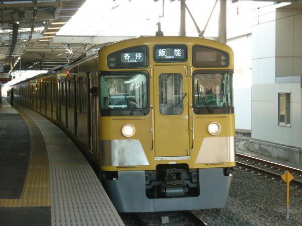 2014-01-11 西武2083F 各停飯能行き2