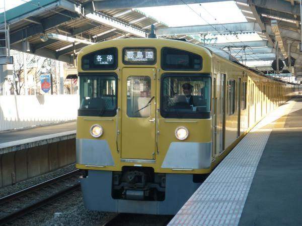 2014-01-11 西武2083F 各停豊島園行き