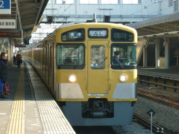 2014-01-12 西武2083F 各停西武球場前行き1