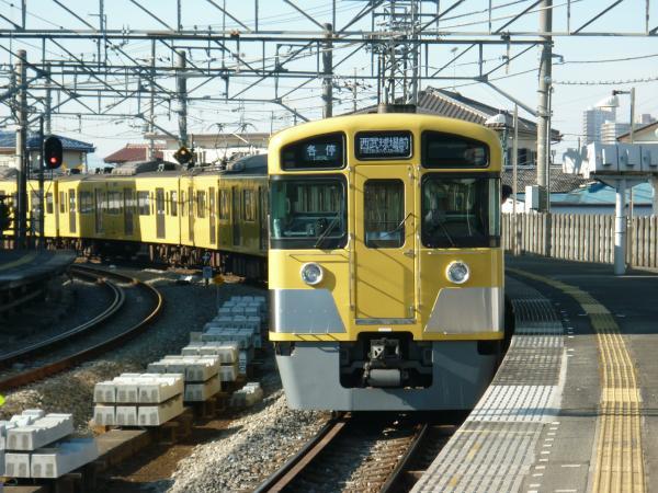 2014-01-12 西武2083F 各停西武球場前行き3