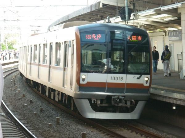 2014-11-03 メトロ10118F 各停入間市行き
