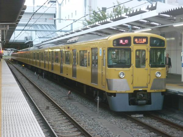2014-11-03 西武2057F 急行本川越行き