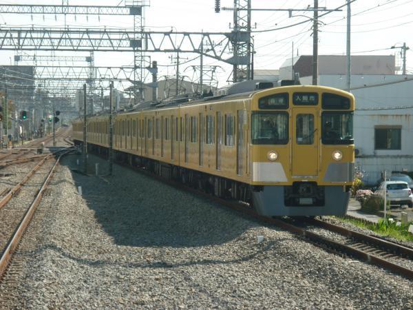 2014-11-03 西武2063F 各停入間市行き
