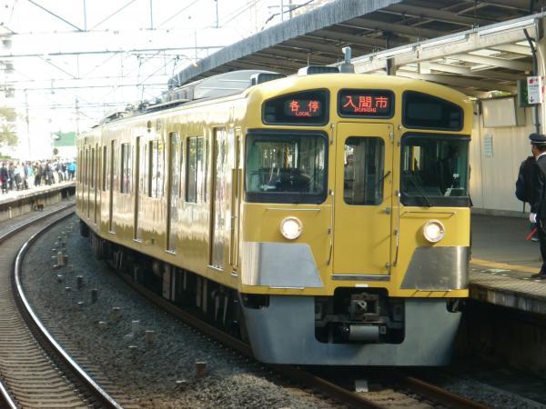 2014-11-03 西武2087F 各停入間市行き1
