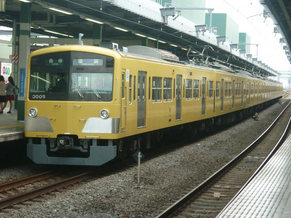 2014-11-03 西武3009F 各停池袋行き2