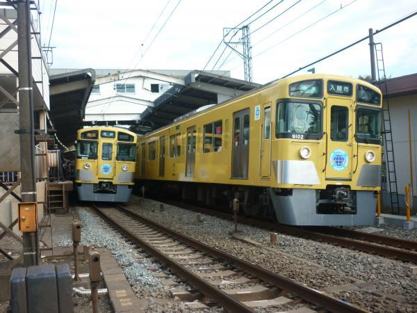 2014-11-03 西武9102F 準急入間市行き1