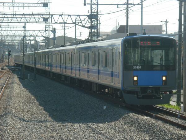 2014-11-03 西武20103F 急行飯能行き