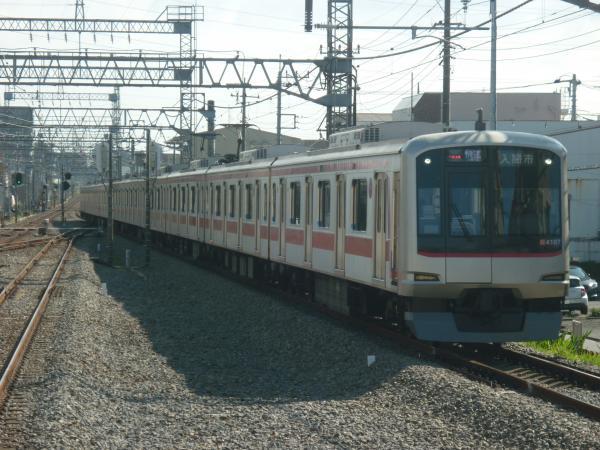 2014-11-03 東急4107F 快速入間市行き