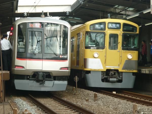 2014-11-03 東急4107F 西武2077F