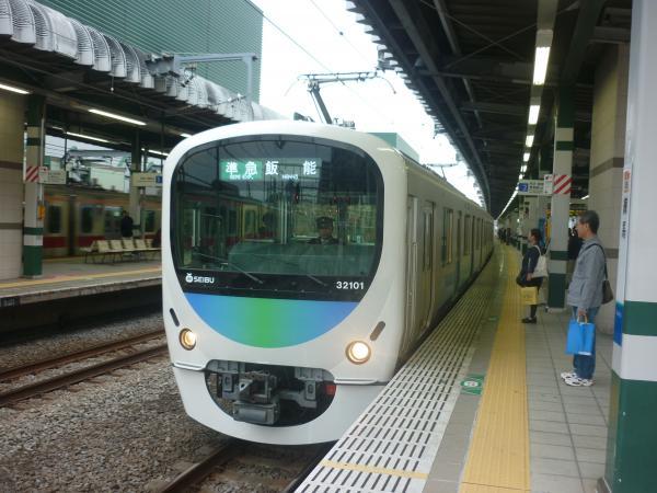 2014-11-08 西武32101F+38103F 準急飯能行き 4127レ