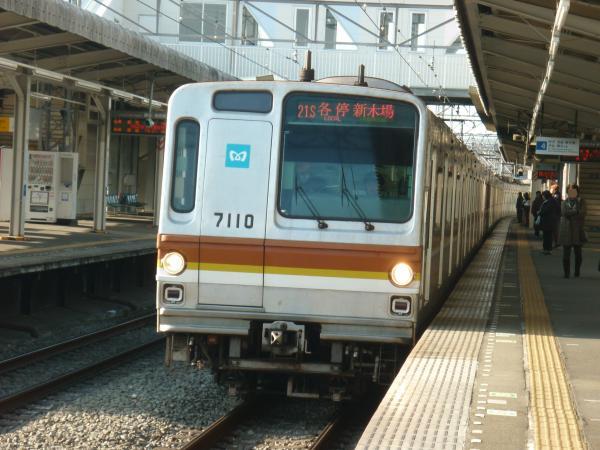 2014-02-22 メトロ7110F 各停新木場行き