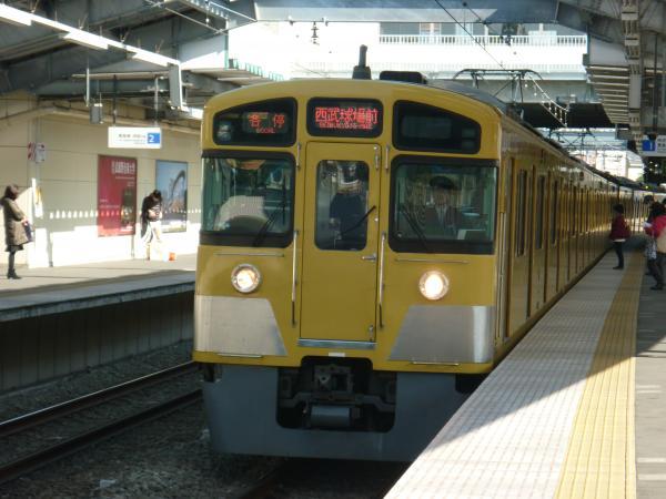 2014-02-22 西武2087F 各停西武球場前行き1