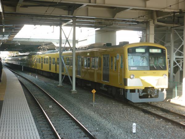 2013-11-16 西武3001F 回送