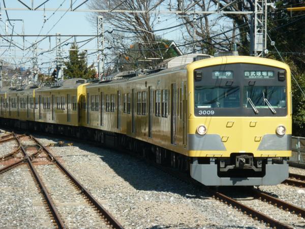 2014-03-15 西武3009F 各停西武球場前行き
