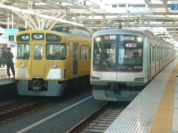 2014-11-14 西武2089F 東急5121F