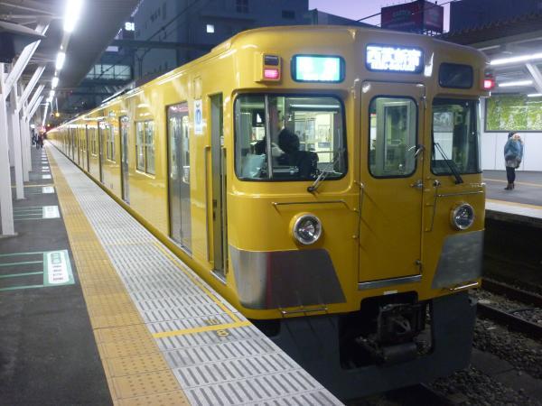 2014-11-14 西武2519F+2033F 準急西武新宿行き 4808レ