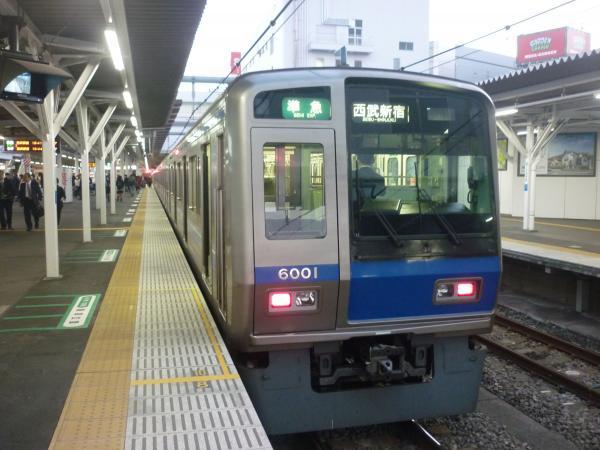 2014-11-14 西武6101F 準急西武新宿行き 4616レ