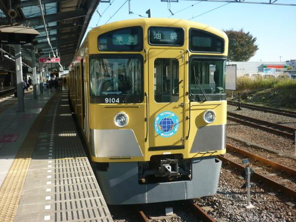 2014-11-14 西武9104F 準急池袋行き 4118レ