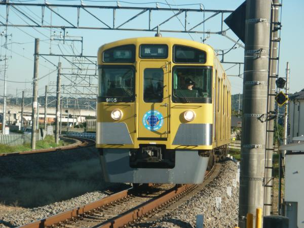 2014-11-14 西武9105F 準急飯能行き 4135レ
