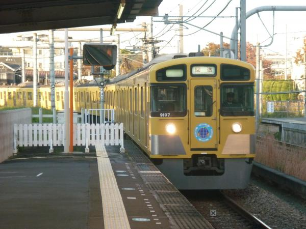 2014-11-14 西武9107F 回送1