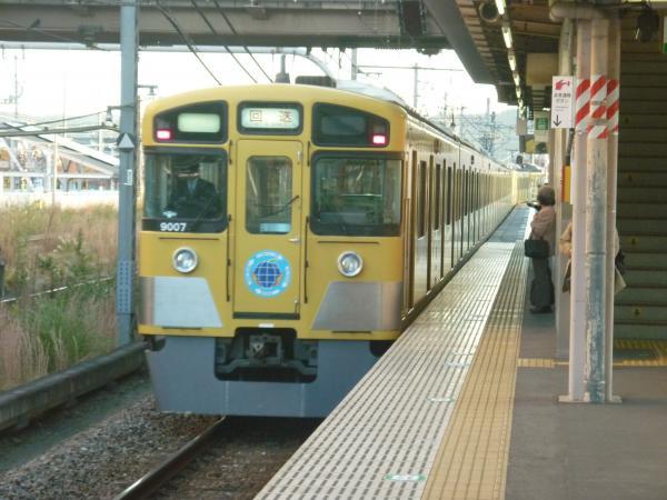 2014-11-14 西武9107F 回送2