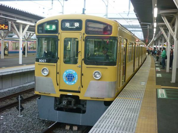 2014-11-14 西武9107F 準急池袋行き2 4128レ