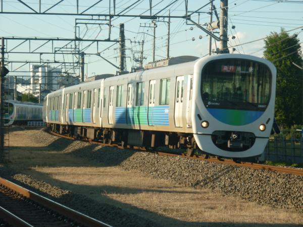 2014-11-14 西武32104F+38107F 急行池袋行き1 2156レ