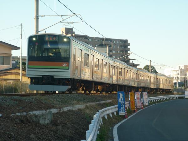 2014-11-14 八高線205系ハエ85編成 八王子行き