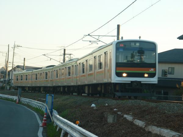2014-11-14 八高線209系ハエ63編成 川越行き