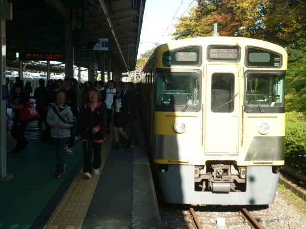 2014-11-15 西武2097F 各停西所沢行き1 6154レ