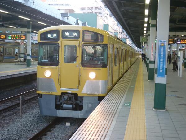 2014-11-15 西武2501F+2503F 各停池袋行き 5488レ