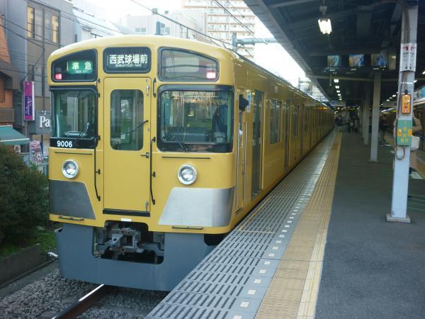 2014-11-15 西武9106F 準急西武球場前行き2 4309レ
