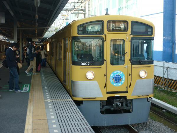 2014-11-15 西武9107F 準急池袋行き 4132レ