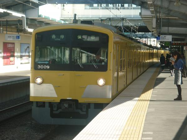 2014-11-14 西武3009F 各停保谷行き 5719レ