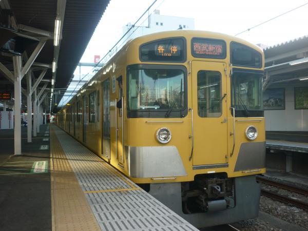 2014-11-22 西武2061F 各停西武新宿行き 5830レ