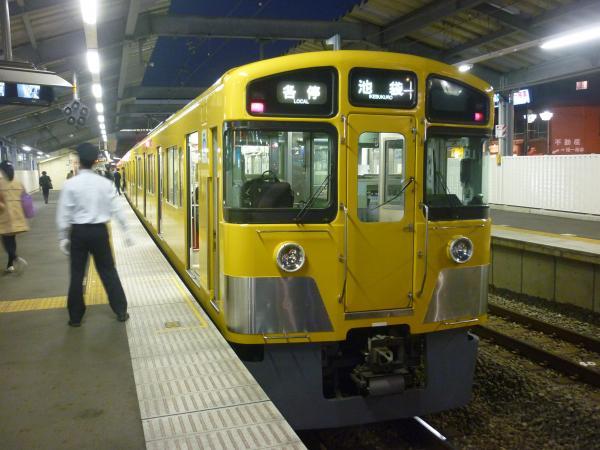 2014-11-22 西武2063F 各停池袋行き 5494レ