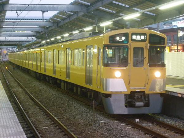 2014-11-22 西武2063F 各停豊島園行き 5491レ