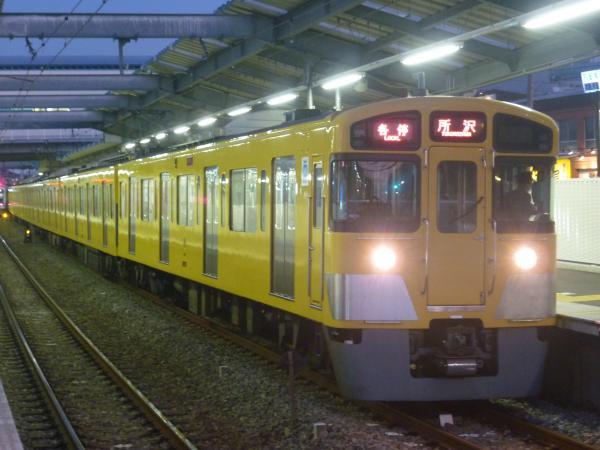 2014-11-22 西武2073F 各停所沢行き 5313レ