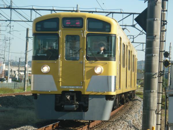 2014-11-22 西武2087F 回送