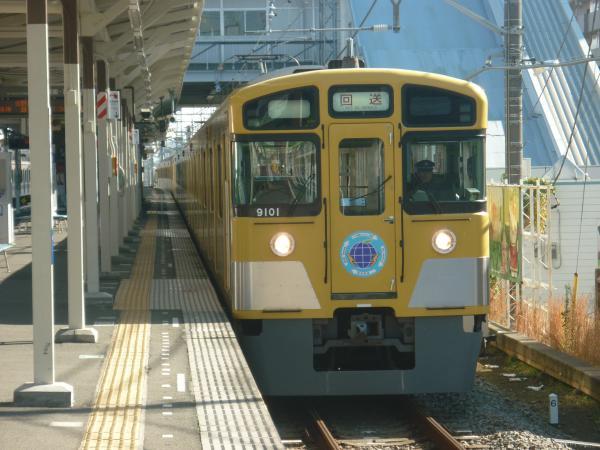 2014-11-22 西武9101F 回送1