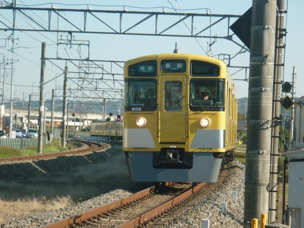 2014-11-22 西武9106F 準急飯能行き 4127レ