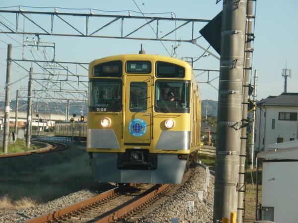 2014-11-22 西武9108F 急行飯能行き 2133レ