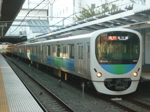2014-11-22 西武38113F 急行本川越行き 2665レ