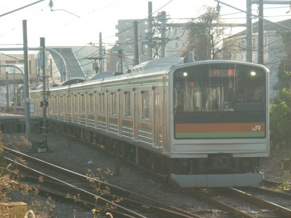 2014-11-22 八高線205系ハエ81編成 川越行き