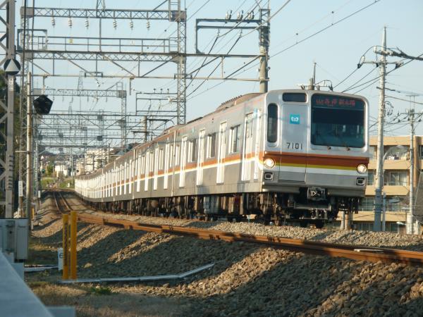 2014-11-23 メトロ7101F 各停新木場行き 6532レ