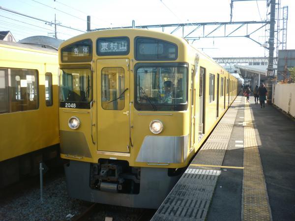 2014-11-23 西武2047F 各停東村山行き 6659レ