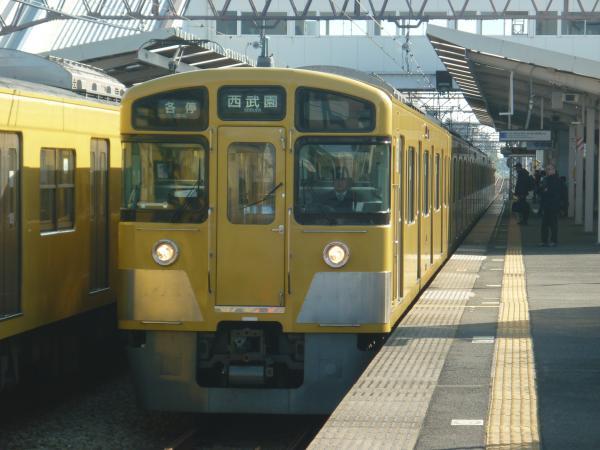 2014-11-23 西武2049F 各停西武園行き 6661レ